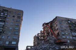 Демонтаж 7-го подъезда дома № 164 на проспекте Карла Маркса. Часть 5. Магнитогорск