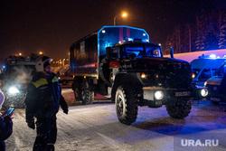 Экстренные службы в аэропорту Ханты-Мансийска, машина следственного комитета