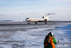 Прибытие рейса из Амстердама в Кольцово с цветами на борту. Екатеринбург, взлетная полоса, споттинг, самолет