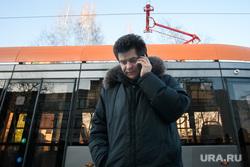 Александр Высокинский тестирует новые трамваи. Екатеринбург, высокинский александр, низкопольный трамвай, общественный транспорт, трамвай увз, трамвай, модель415