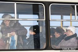 Виды Кунгура. Пермский край, плата за проезд, общественный транспорт, пассажиры автобуса, проезд в транспорте