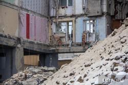 Демонтаж 7-го подъезда дома № 164 на проспекте Карла Маркса. Часть 3. Магнитогорск, руины