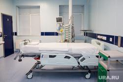 Пресс-тур в окружной «Центр диагностики и сердечно – сосудистой хирургии». Сургут, больничная палата