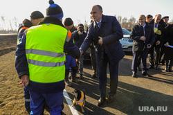 Выезд Бориса Дубровского по дорогам. Челябинск, дорожные рабочие, дорожники, дубровский борис