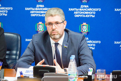 Брифинг о отмене выборов губернатора. Ханты-Мансийск, дегтярев сергей
