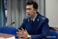 Пресс-конференция прокурора Руфата Биктимирова. Тюмень, биктимеров руфат