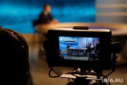 «Разговор с Дмитрием Кобылкиным». Прямая линия губернатора ЯНАО. Салехард, телетрансляция, телекамера, телевидение
