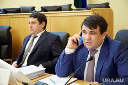 Заседание тюменской областной думы. Тюмень, пискайкин владимир, холманский юрий