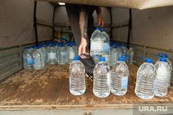 Авария в Североуральске. Необр, бутылки с водой, раздача воды
