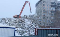 Демонтаж 7-го подъезда дома № 164 на проспекте Карла Маркса. Часть 6. Магнитогорск, демонтаж подъезда