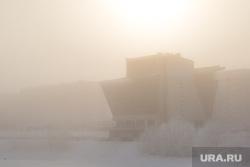 Февральские морозы. Сургут, мороз, туман, холод, зима