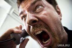 Клипарт depositphotos.com, разговор по телефону, крик, злость, ярость, орать