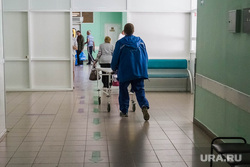 Больницы. Врачи. регистратура. Тюмень, каталка, больничный коридор, больница