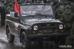 Репетиция парада Победы. Екатеринбург, военная техника, уаз, солдаты