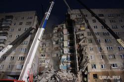 Взрыв бытового газа в доме № 164 на проспекте Карла Маркса. Часть 3. Магнитогорск, автокран, обрушение дома, последствия взрыва