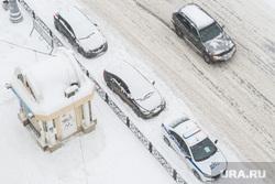 Виды Екатеринбурга, машина дпс, правила дорожного движения, обочина, дорога в снегу, зимняя дорога, пдд, зима, автомобили