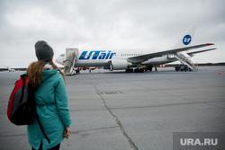 Первый полёт самолета «Виктор Черномырдин» (Boeing-767) авиакомпании Utair из аэропорта Сургут , utair, туризм, пассажир, самолет, ютэир, боинг 767
