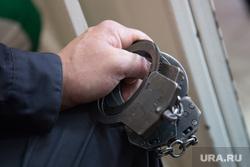 Продление ареста Владимиру Рыжуку. Курган, наручники