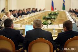 заседание правительства ТО, чиновники, правительство, дума, заседание, политики