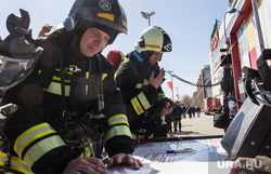 Пожарно-тактические учения в торгово-развлекательном комплексе «Семейный парк». Магнитогорск, эвакуация, проверка, мчс, трк, семейный парк, пожарный штаб