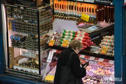 Виды Будапешта. Венгрия, колбаса, продукты питания, еда, фуа-гра, центральный рынок будапешта, гусиный паштет