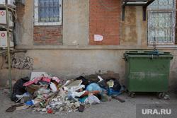 Виды Перми, мусор, мусорный контейнер, мусорка, грязь, помойка