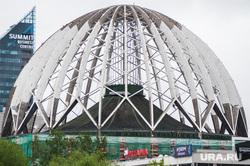 Реставрация фасада и купола Екатеринбургского Государственного Цирка. Екатеринбург, купол, екатеринбургский цирк