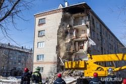 Обрушение дома на Харьковской, 52а. Работа спасателей. Тюмень, обрушение дома, аварийная ситуация