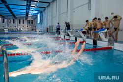 Общественная приемка спортивного комплекса с 50-метровым бассейном при участии губернатора ХМАО Натальи Комаровой. Сургут , бассейн, плавание