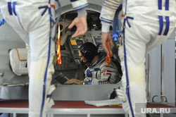 Экзамен у основного экипажа МКС-45/46/ЭП-18. Звездный городок, космонавт, космический корабль, могенсен андреас