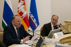 Выездное заседание совета безопасности РФ. Тюмень, патрушев николай, цуканов николай