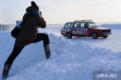 Крупнейшая автоспортивная трасса на льду. Екатеринбургский клуб ледового дрифта. Озеро Балтым, гонки, озеро балтым, зимняя дорога, трасса