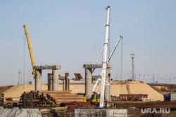 Строительство моста через Туру в районе Лесобазы. Восточный обход. Тюмень, мост, стройка