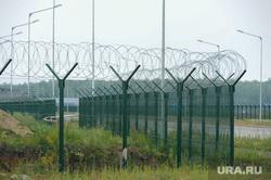 ТЛК Южноуральский Челябинск, колючая проволока, забор