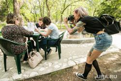 Пушкинский праздник в Центральном парке культуры и отдыха. Курган, фотограф, урок на улице
