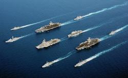 Открытая лицензия на 04.08.2015. Корабли в море., корабли, военный корабль