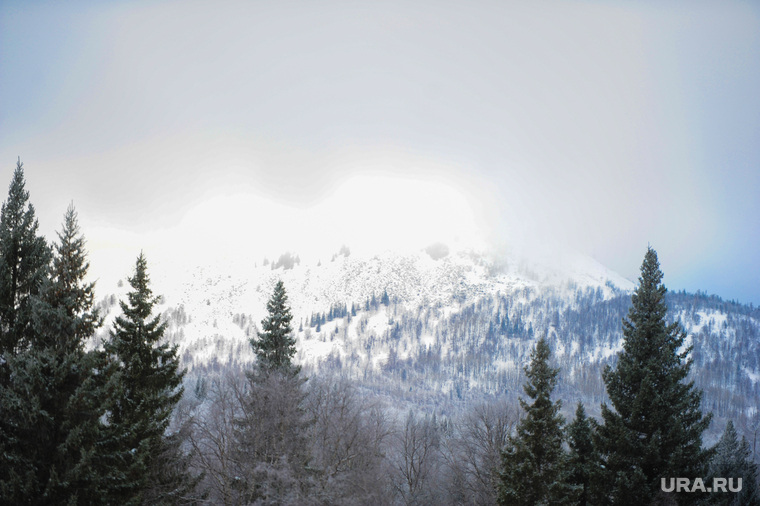 Хребет Зигальга, поселок Верхний Катав, Челябинская область, лес, национальный парк, зигальга, горы, зима