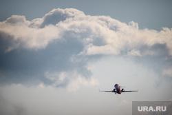 Очередной споттинг в Кольцово. Екатеринбург, самолет, облака, небо