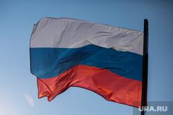 Торжественный митинг и автопробег в честь празднования дня Флага России. Сургут, флаг россии