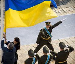 Украина. Петр Порошенко. Военные, флаг украины, украинская армия