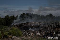 Завод по сортировке мусора. Тюмень, дым, мусор, загрязнение, отходы, хлам, полигон тбо, мусорка, грязь, куча, вонь, окружающая среда, свалка, помойка, почва, мусорный полигон, помойка, экология, гора, отбросы, тлеет
