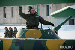 Свердловский полигон., солдат, граната, танк, учения
