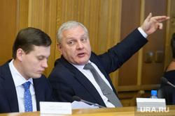 Заседание Екатеринбургской городской думы, вечкензин михаил, колесников александр