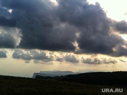 Крым., закат, облака, мердвень каясы, южный берег крыма, юбк
