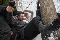 Проводы зимы в Екатеринбурге, драка, традиции, народные гуляния, царь горы
