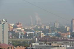 Неблагоприятные метеоусловия, выбросы. Челябинск, трубы дымят, воздух, выбросы, нму, атмосфера, экология, неблагоприятные метеоусловия