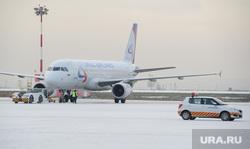 Клипарт, разное. Екатеринбург, аэропорт кольцово, самолет, уральские авиалинии, авиация