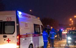 Экстренные службы в аэропорту Ханты-Мансийска, происшествие, скорая помощь