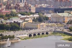 Виды Челябинска, филармония, оперный театр, город челябинск, вид на троицкий мост, вид сверху