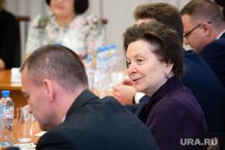 Рабочий визит губернатора ХМАО Натальи Комаровой в село Угут, Сургутский район., комарова наталья